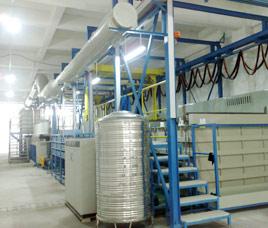 全自动镀锌生产线定制案例