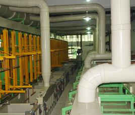 全自动环形挂镀锌生产线定制案例