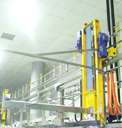 全自动单臂化学镍生产线
