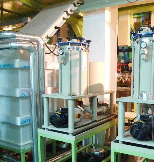 塑胶电镀线过滤系统